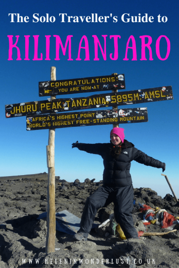 The Solo Traveller's Guide to Climbing Kilimanjaro