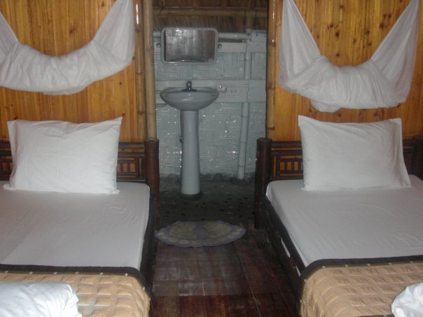 Cabana on Monkey Cat Ba Island Halong Bay Vietnam Helen in Wonderlust