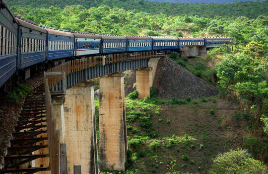 The Tazara Train Richard Stupart