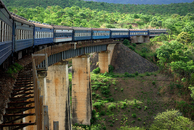 The Tazara Train Richard Stupart