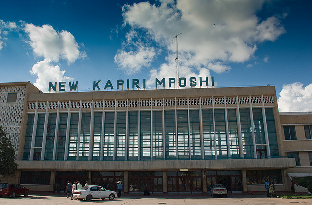 Kapiri Mposhi Station, Zambia, Tazara Train Helen in Wonderlust