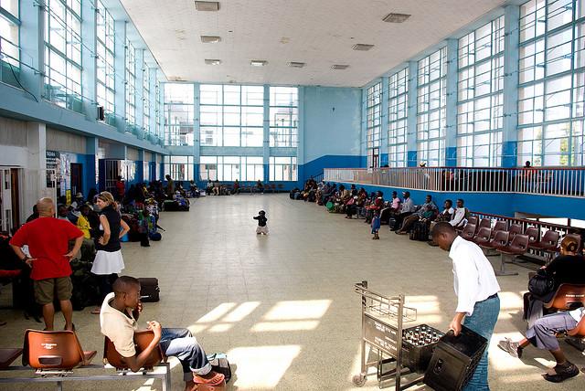 Kapiri Mposhi Station Tazara Train Richard Stupart Helen in Wonderlust