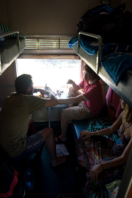 The Tazara Train Richard Stupart Helen in Wonderlust