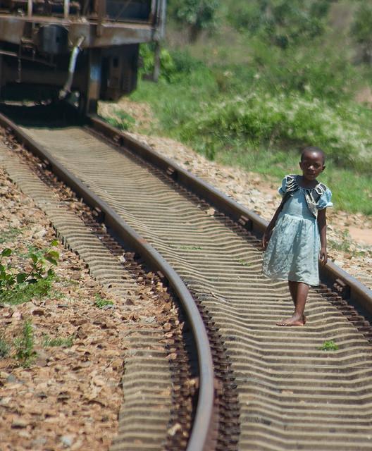 Child on the Tazara Railway Richard Stupart Helen in Wonderlust