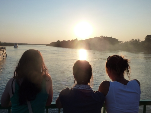 Zambezi River Sunset Cruise Livingstone Zambia www.heleninwonderlust.co.uk