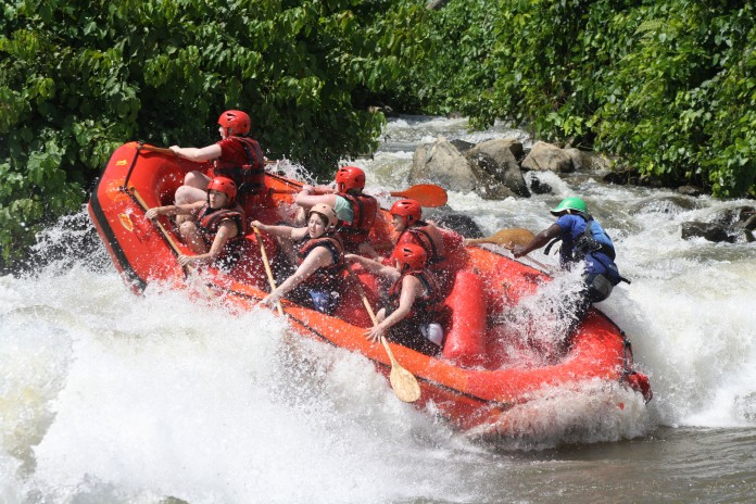 Rafting the River Nile
