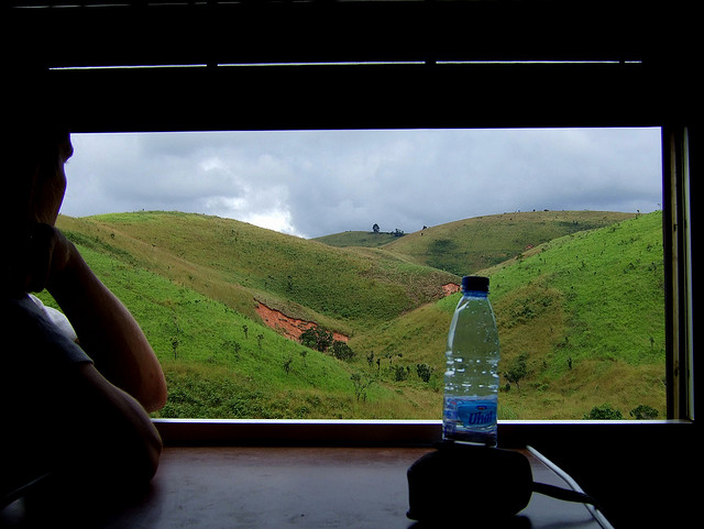The Tazara Train Villeton Helen in Wonderlust