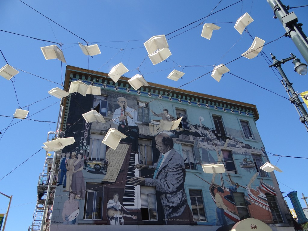 Street Art, Chinatown, San Francisco