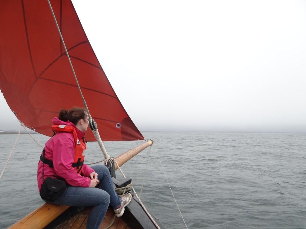 Riding a Galway Hooker Ireland's Wild Atlantic Way