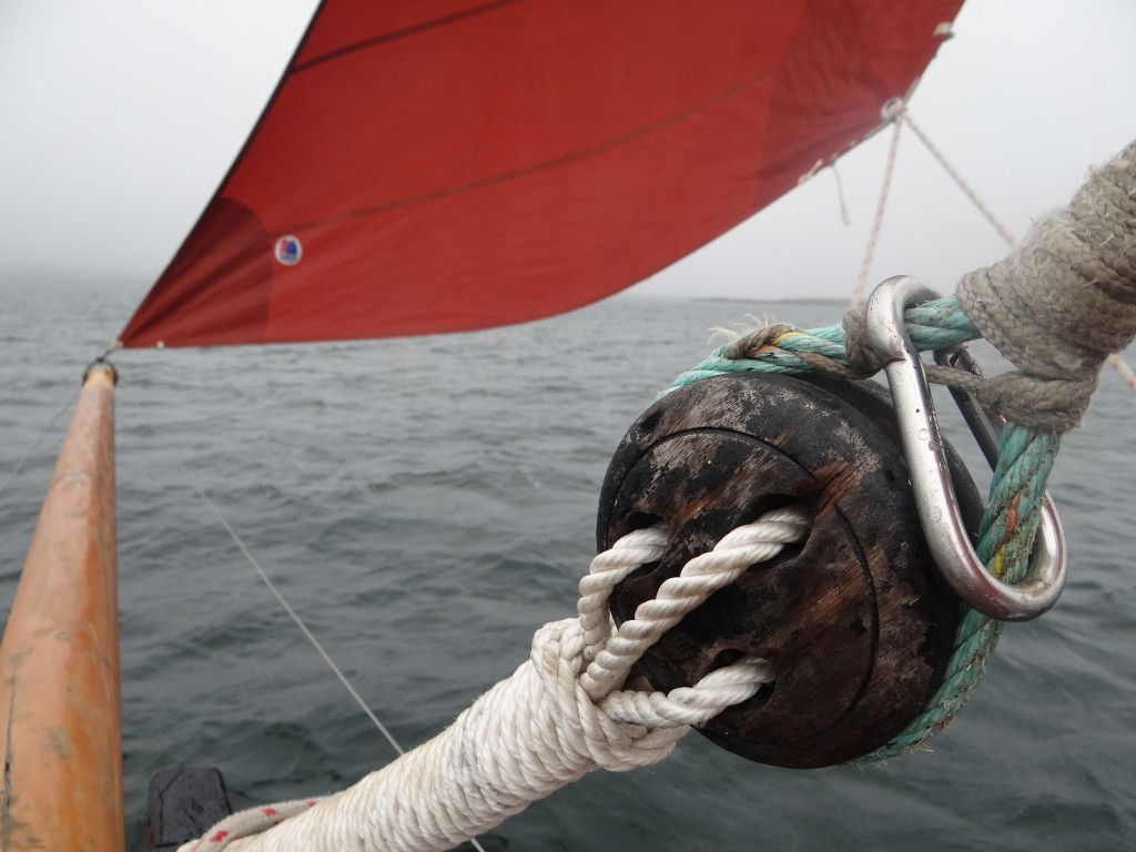 Riding on a Galway Hooker