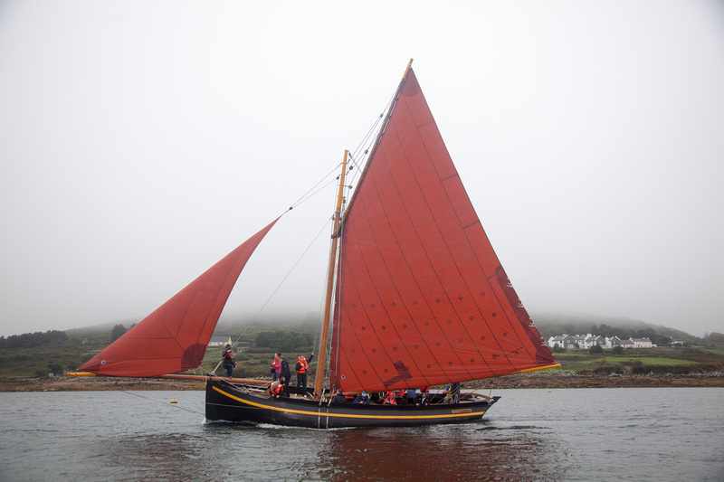 Riding a Galway Hooker