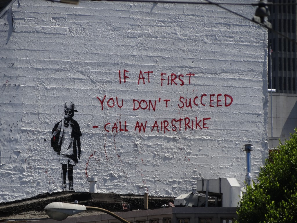 Banksy Street Art San Francisco