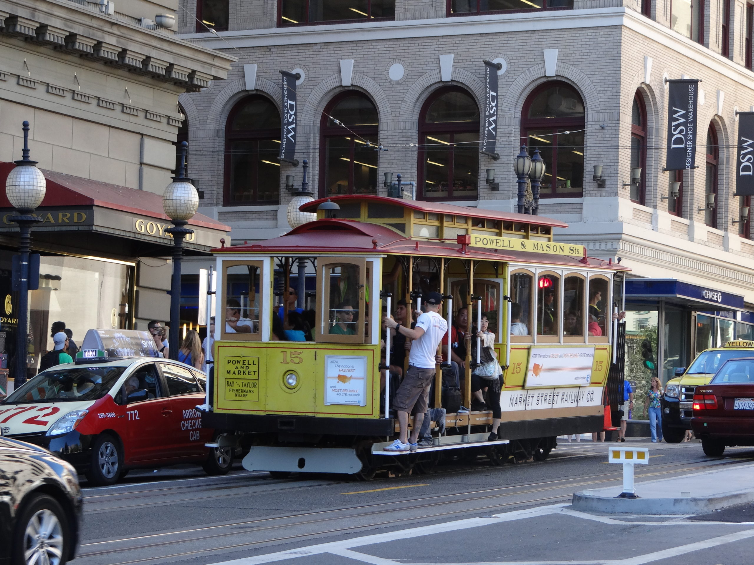 Riding the Cable Car in San Francisco