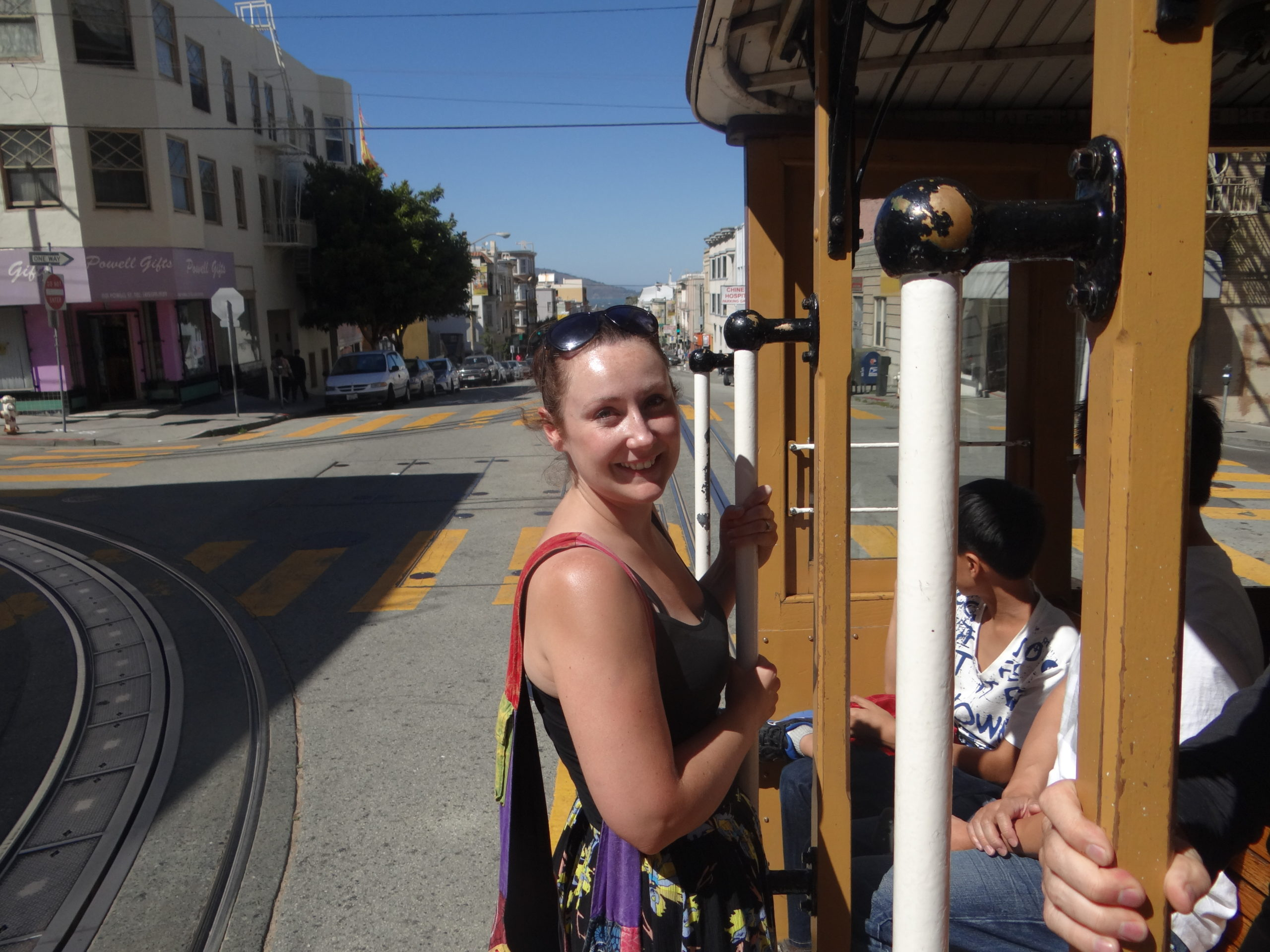 Riding the San Francisco Cable Car