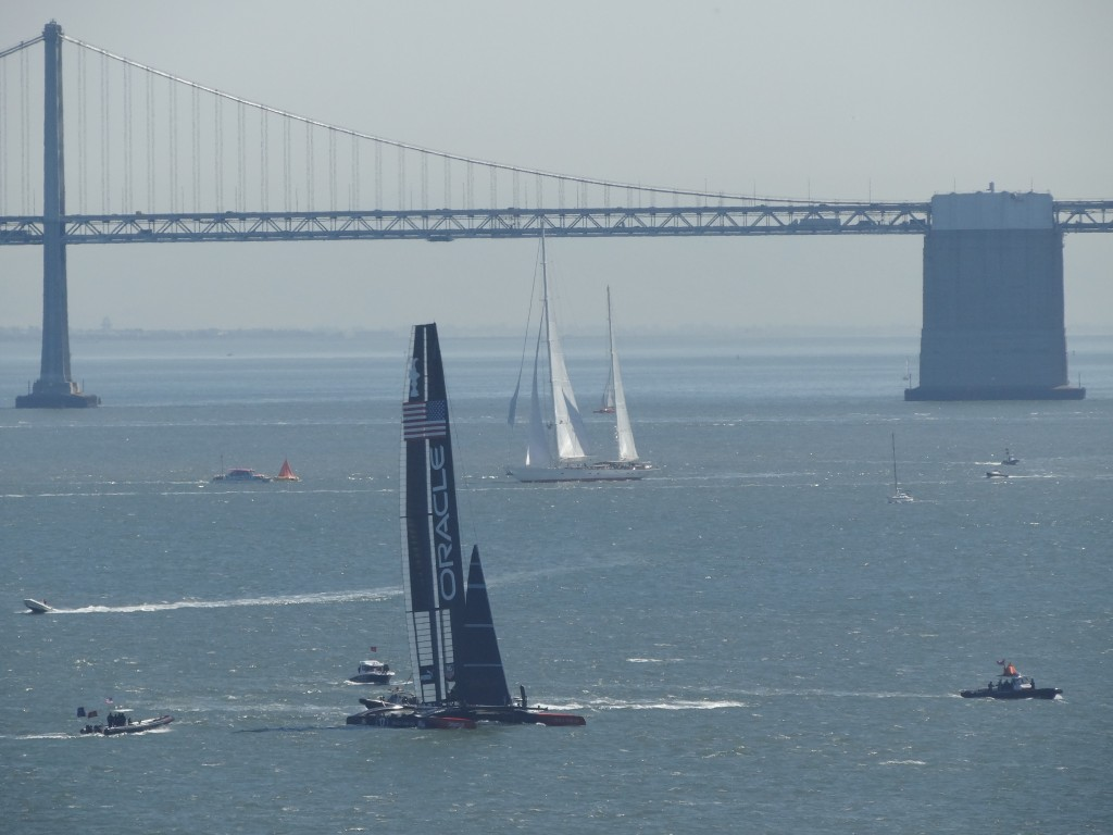 The Oracle America's Cup San Francisco
