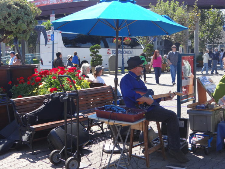 Musician at Pier 39 San Francisco