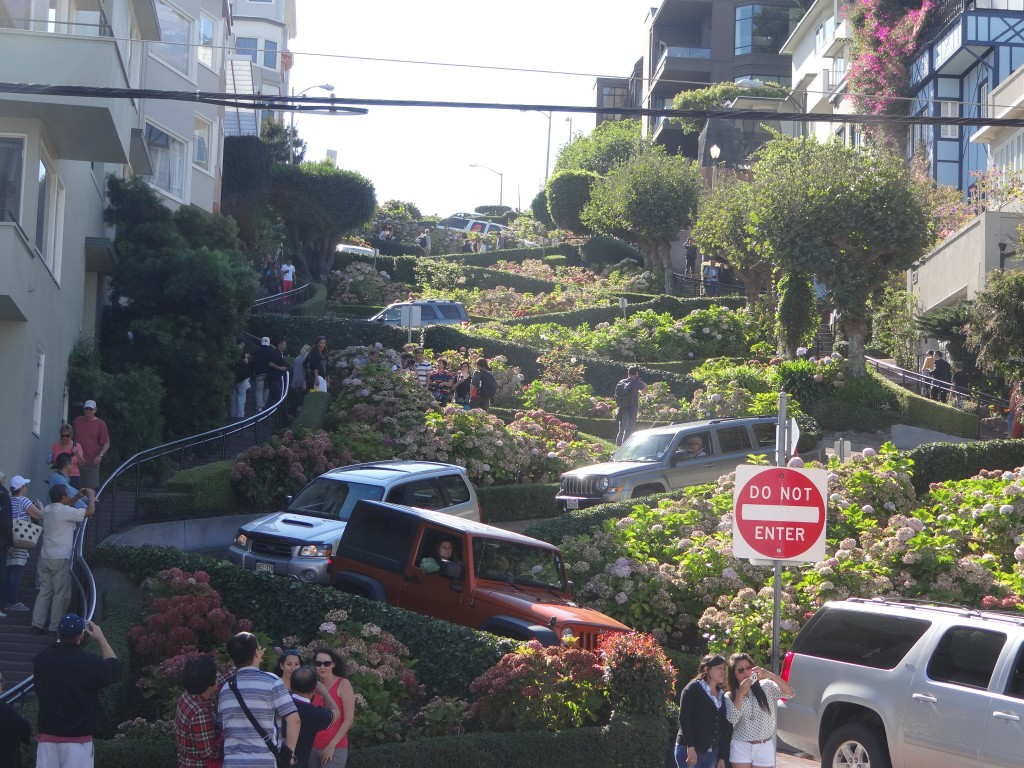 Lombard Street 'The Windy Road' San Francisco