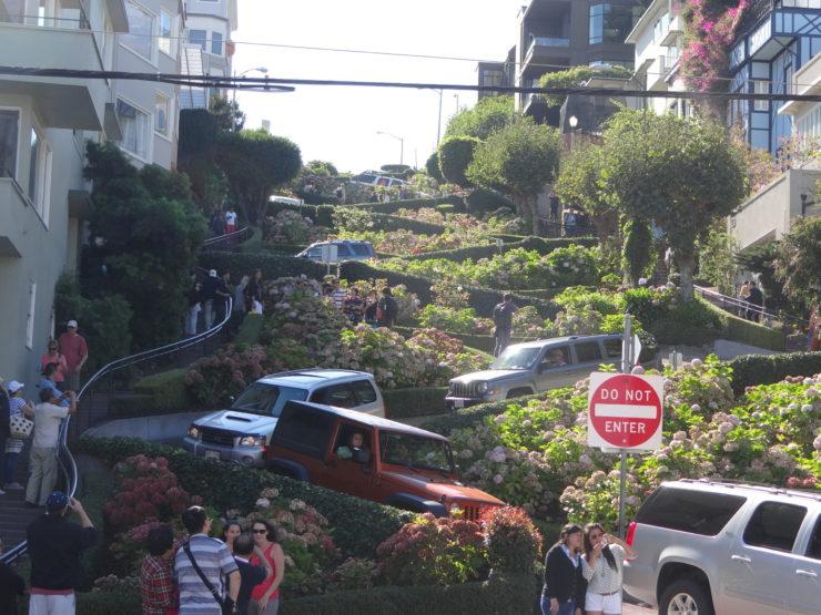 Lombard Street 'The Windy Road' San Francisco