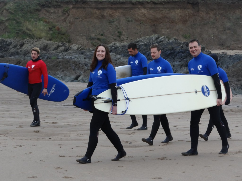 Croyde Surfing