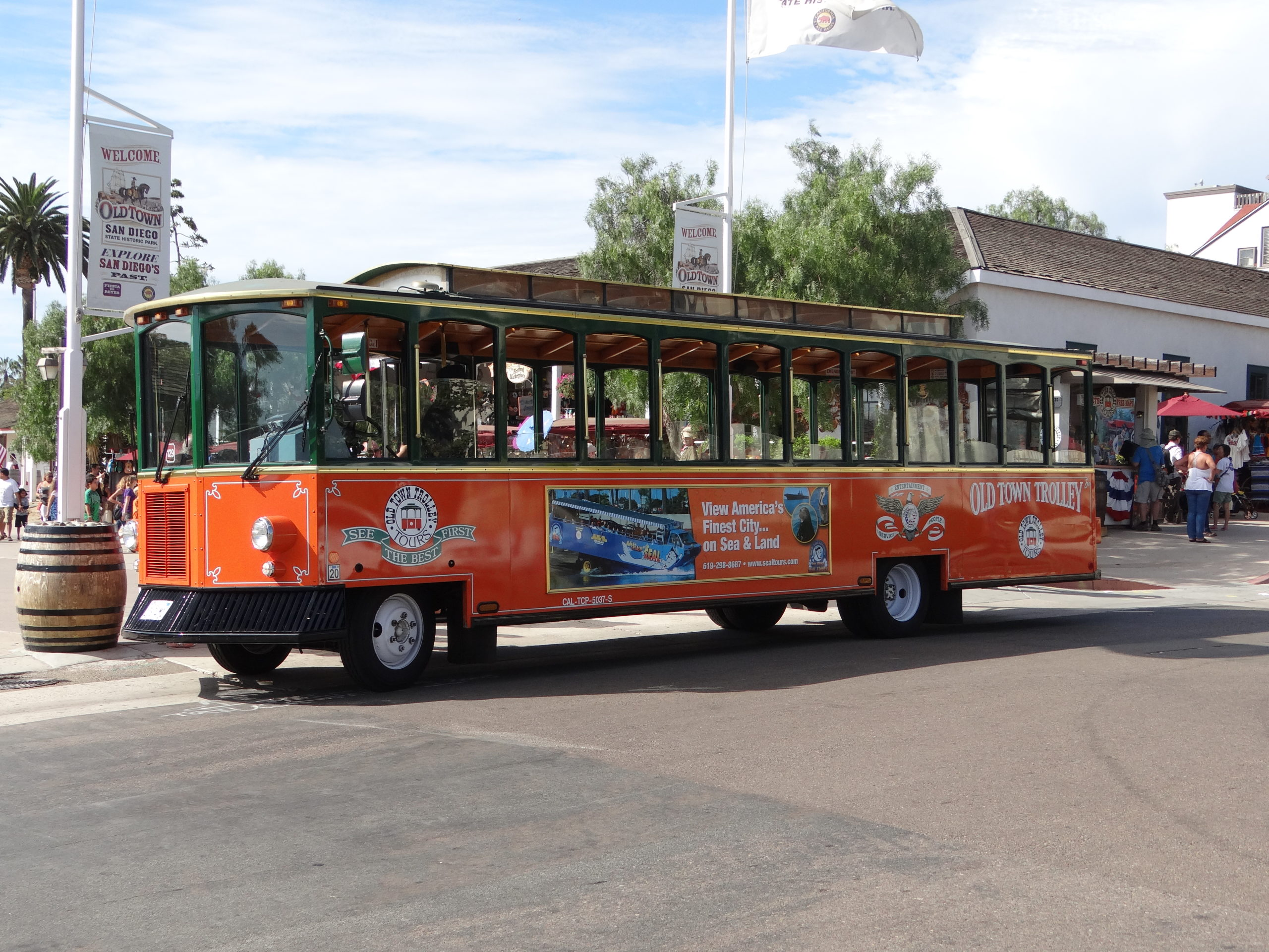 San Diego Old Town Trolley Tours