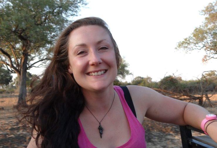 Helen in Wonderlust in South Luangwa National Park in Zambia