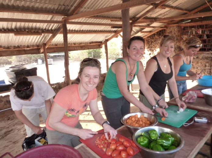 Cooking Dinner Absolute Africa