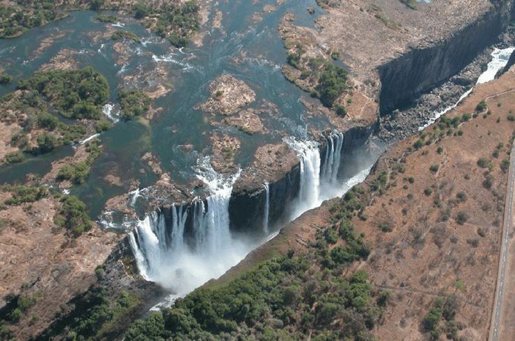 Microlighting Over Victoria Falls