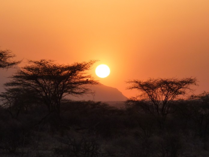 Samburu National Reserve African Sunset