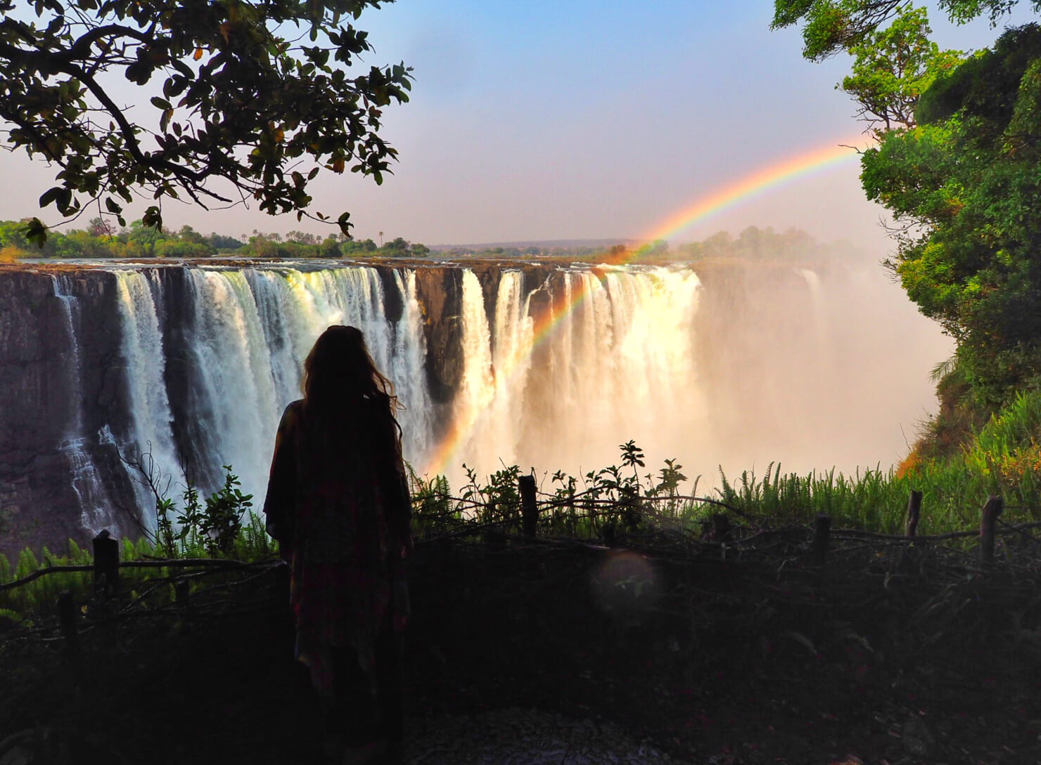Victoria Falls Zimbabwe in September