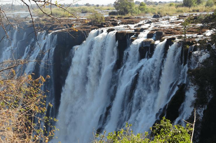 Victoria Falls in July