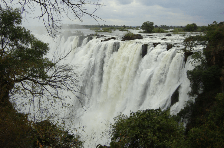 Victoria Falls in May