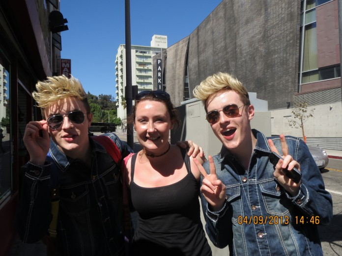 Jedward in Hollywood