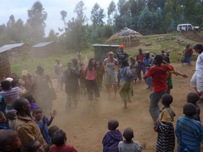 Dancing with the Twa Tribe, Rwanda