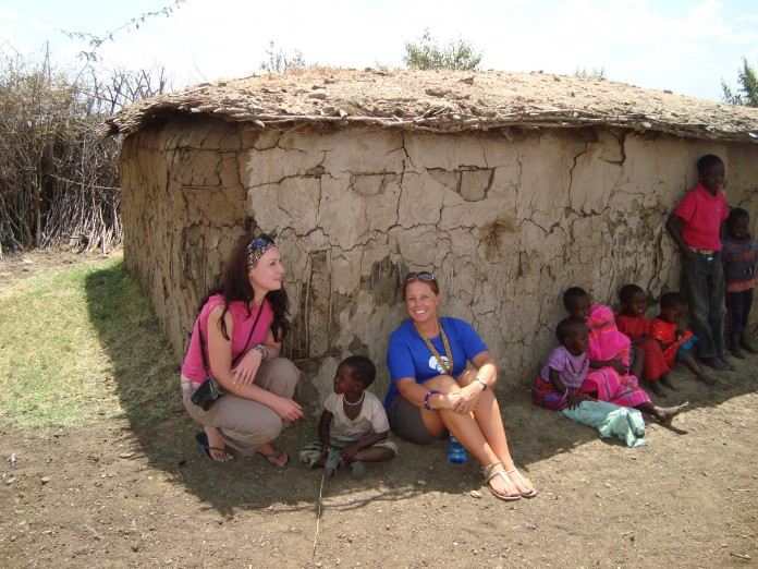 A Maasai Village in Kenya