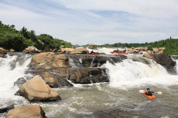 Waterfall on the White Nile