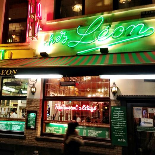 Chez Leon Brussels