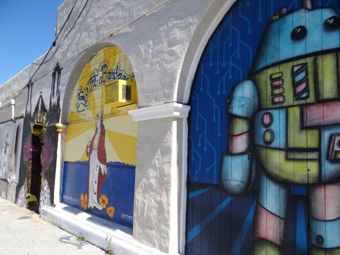 California Road Trip Itinerary - Santa Barbara Street Art