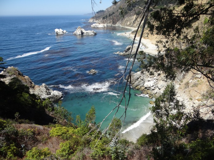 California Road Trip Itinerary - Julia Pfeiffer Burns State Park
