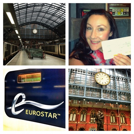 Eurostar to Brussels