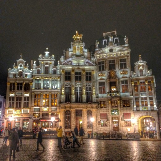 Grand Place by Night