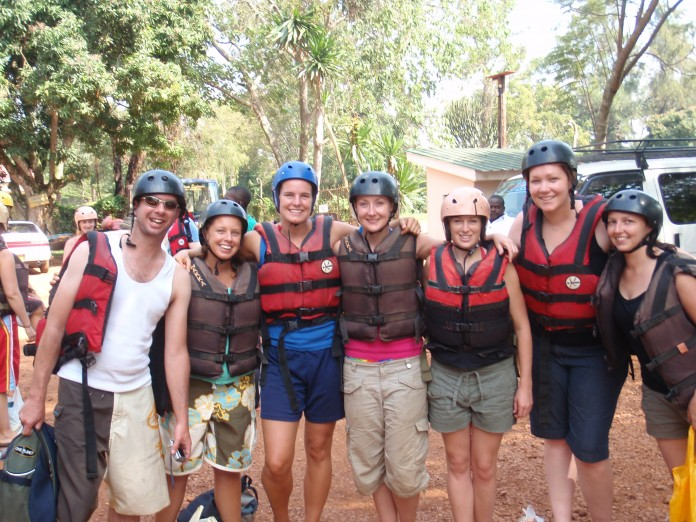 Rafting the While Nile