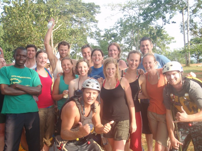 White Water Rafting on the White Nile