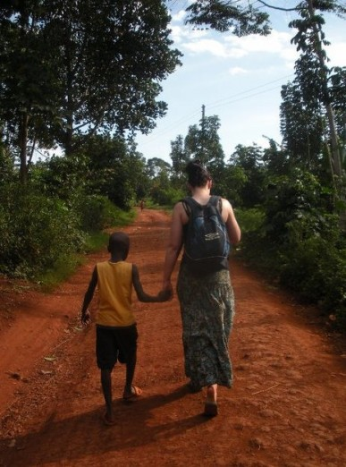 Helen and Joseph in Uganda