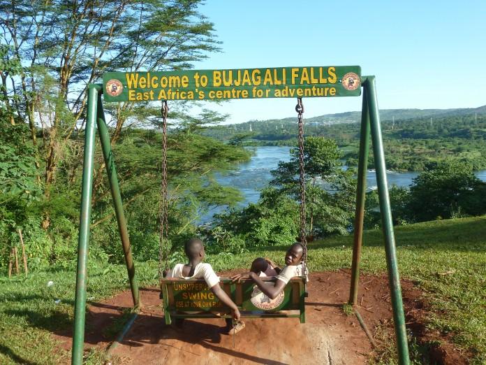 Bujagali Falls Uganda Helen in Wonderlust