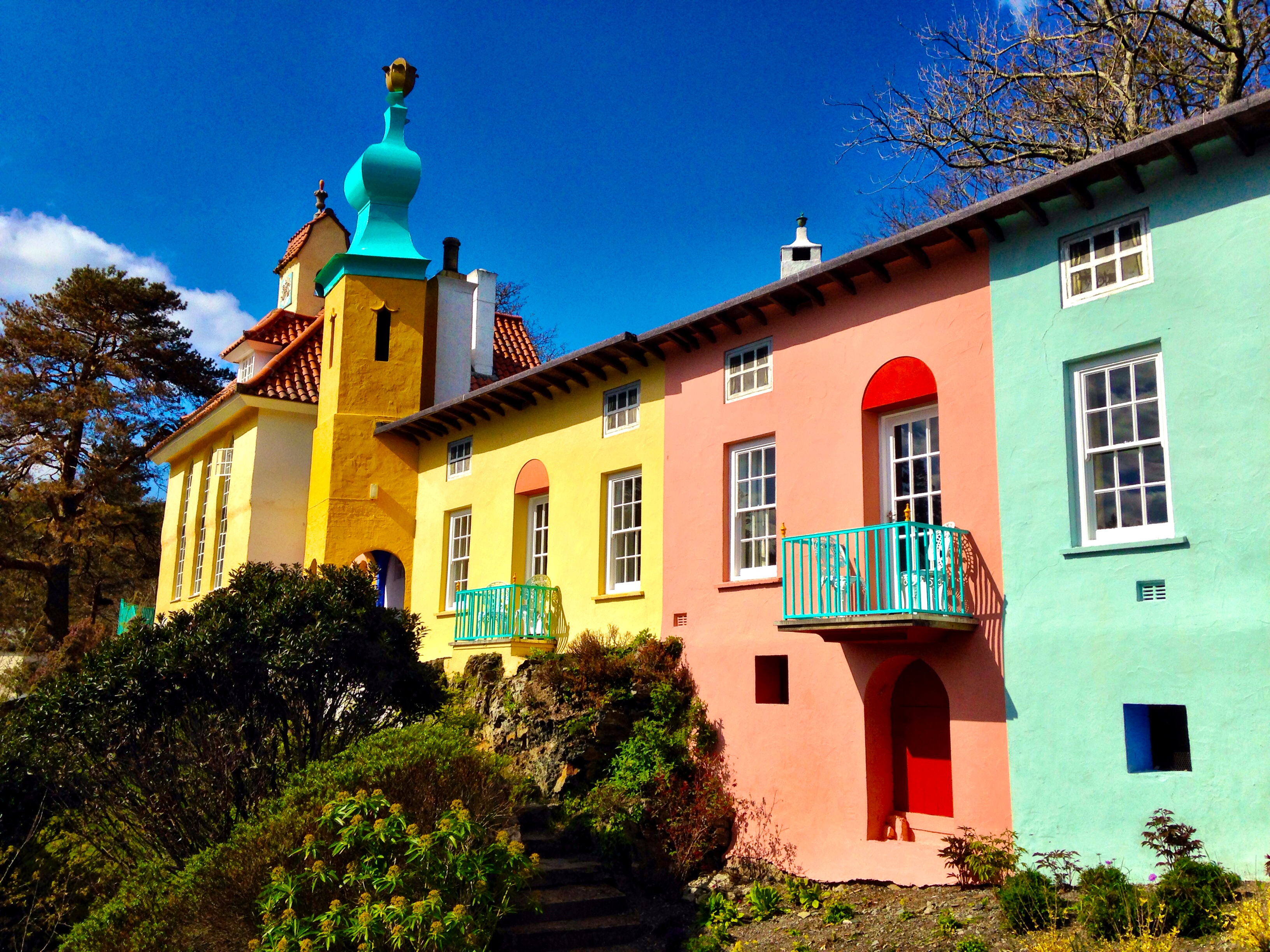 Coastal Home Plans North Wales A Weekend In Portmeirion Amp Criccieth Helen