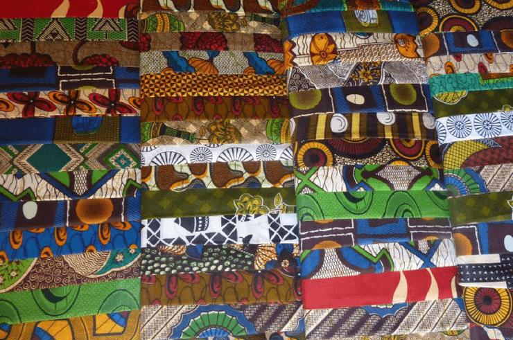 Chitenge Material in Zambia