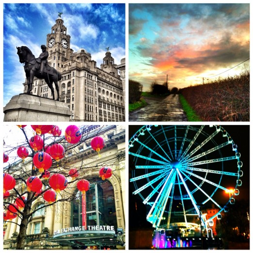 The North UK Liverpool Manchester