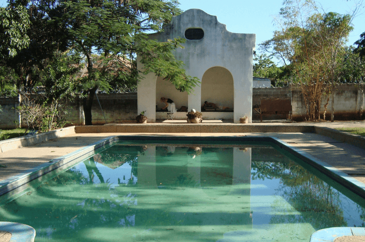 Grubby's Grotto in Livingstone Zambia
