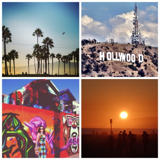 Sunset Los Angeles Venice Beach Santa Monica Street Art Hollywood