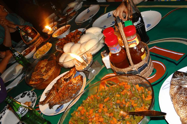 The Heritage Site Restaurant in Livingstone Zambia